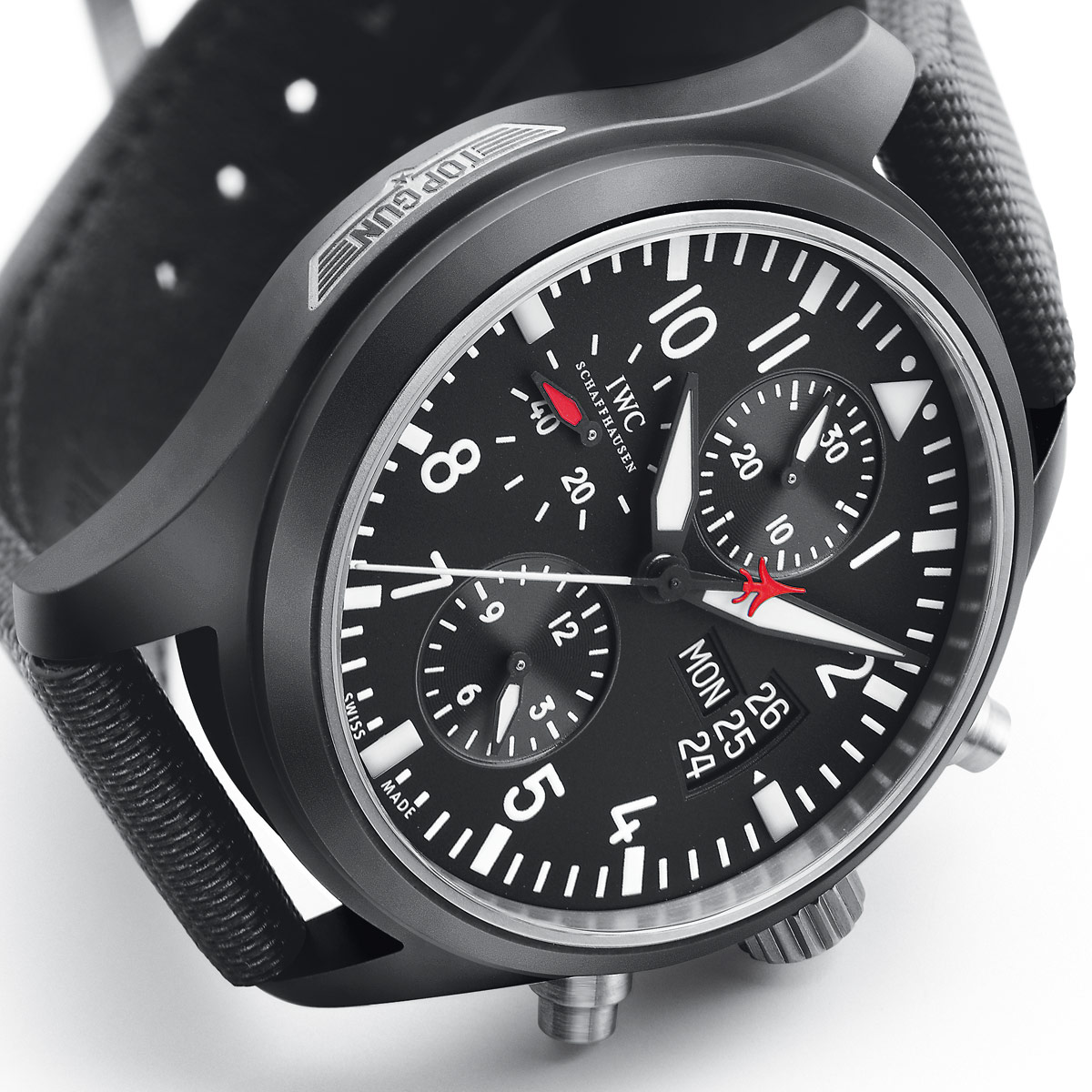 The Watch Quote: Photo - IWC Pilot's Watch Chrono-Automatic Edition Top Gun