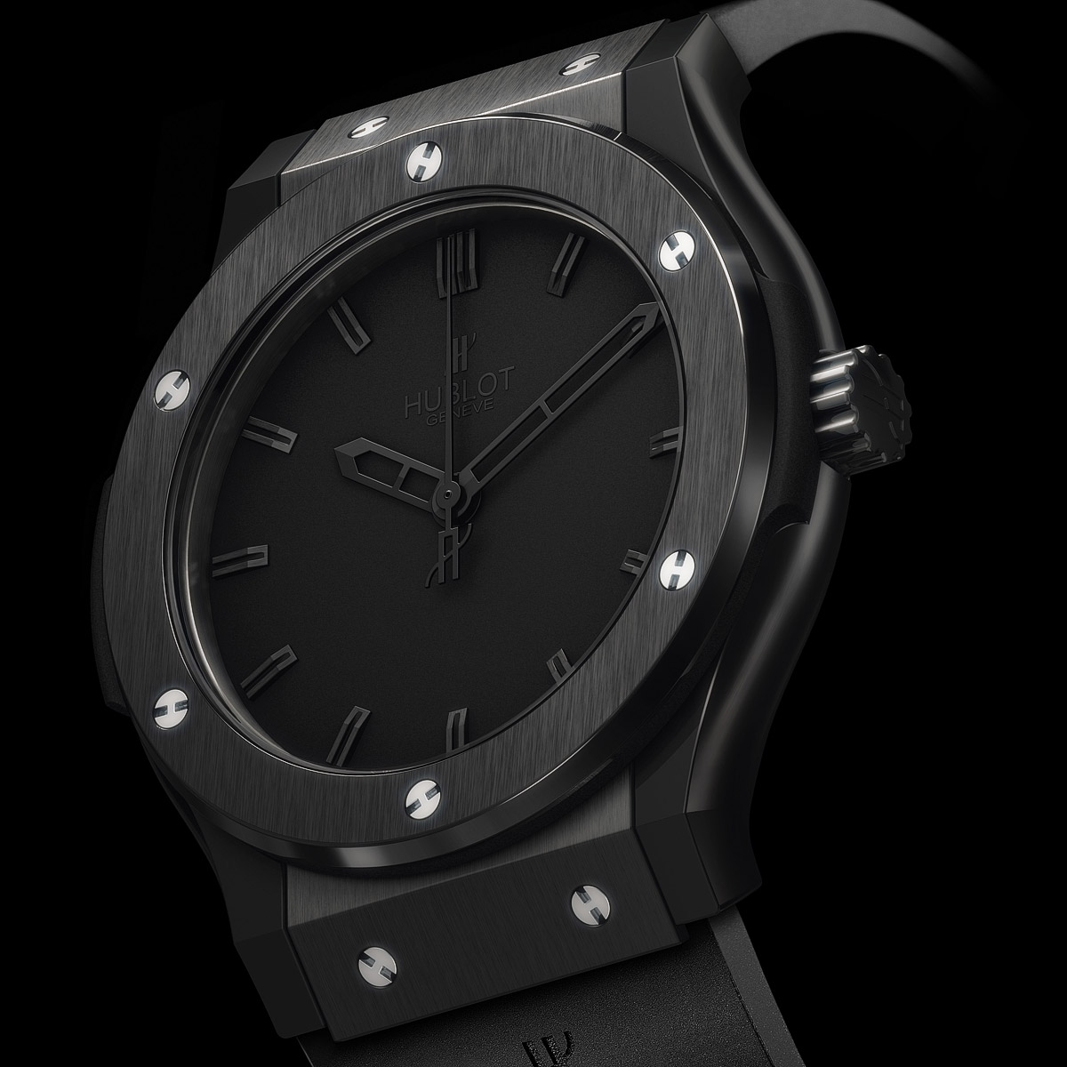 La Cote des Montres : Photo - Hublot Big Bang « Classic All Black »