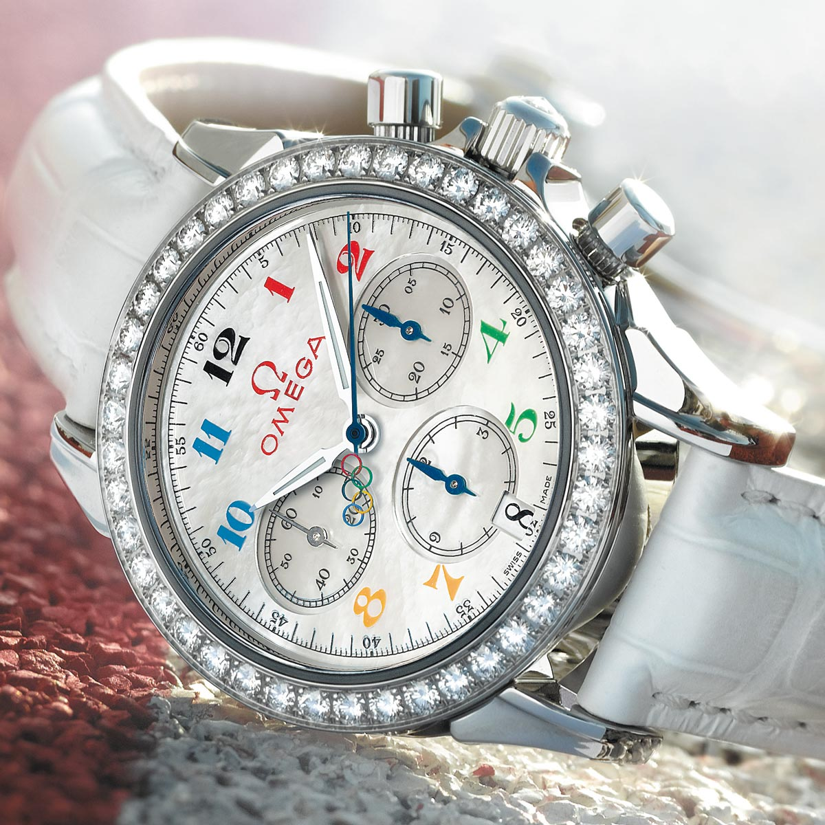 The Watch Quote: Photo - Omega Olympic Timeless collection