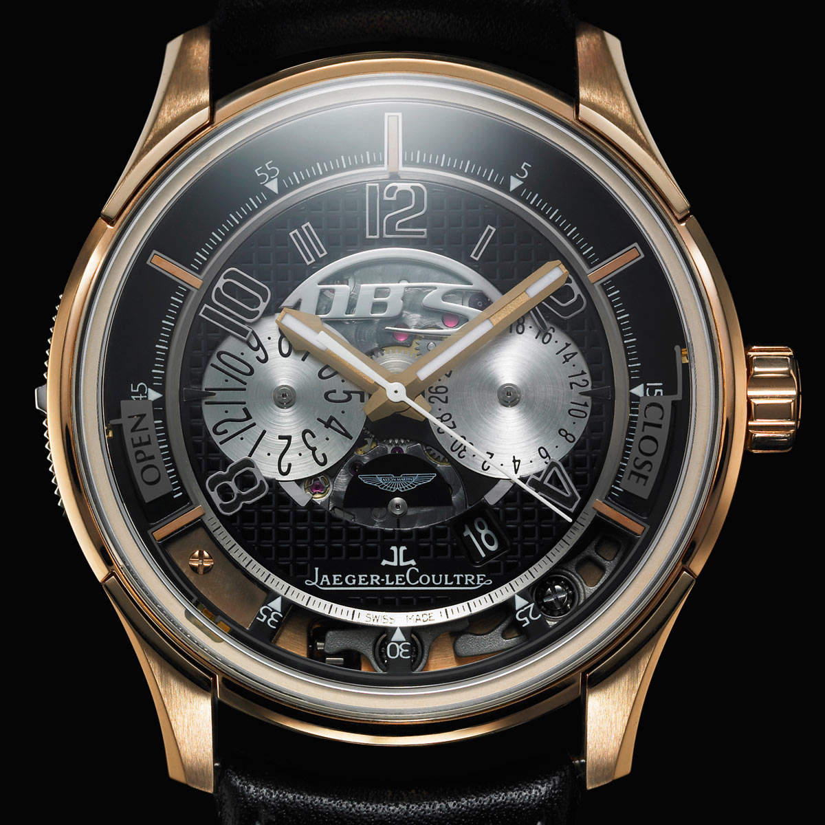 la cote des montres photo jaeger lecoultre et aston martin inventent un s same horloger. Black Bedroom Furniture Sets. Home Design Ideas