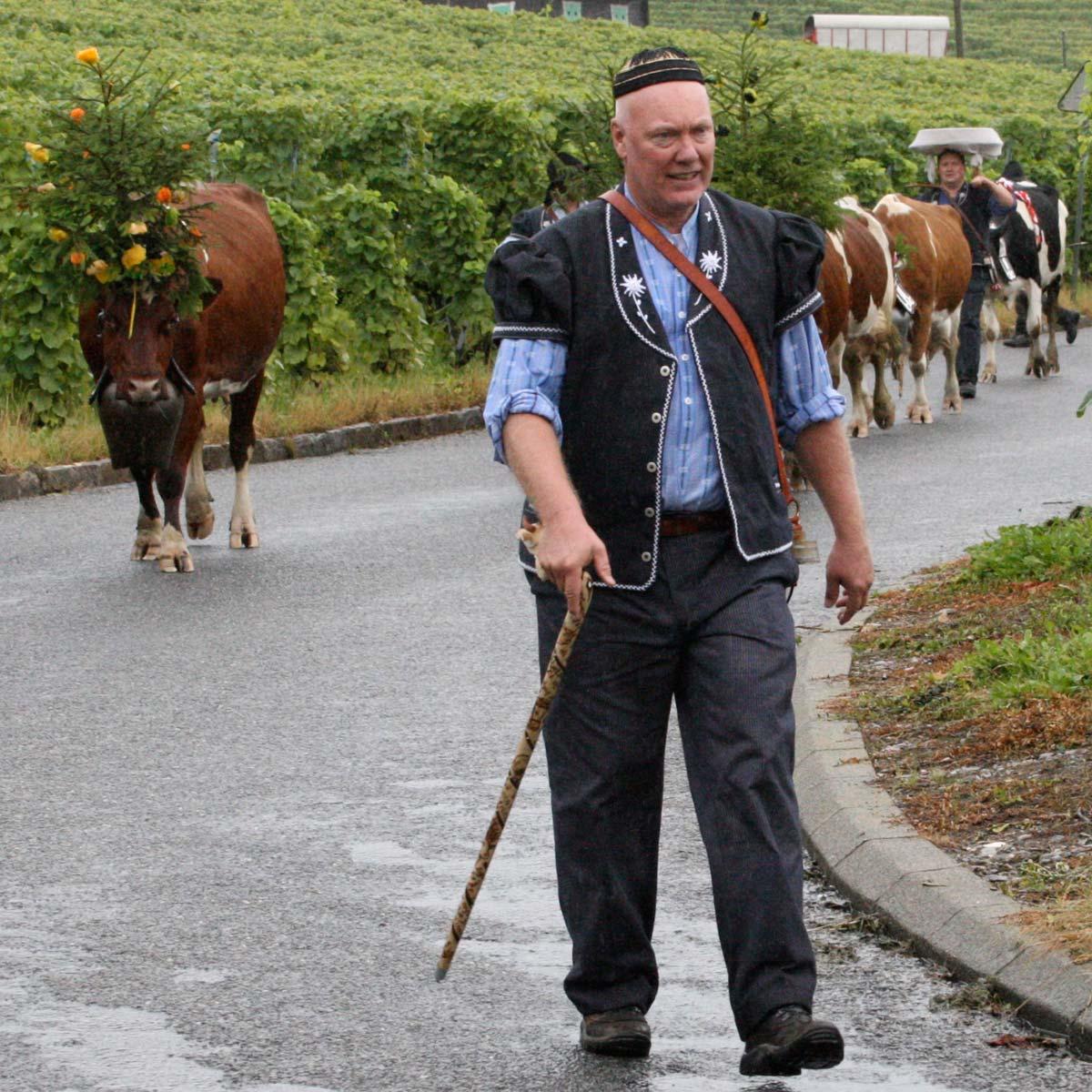 La Cote des Montres : Photo - Jean-Claude Biver : Désalpe 2008