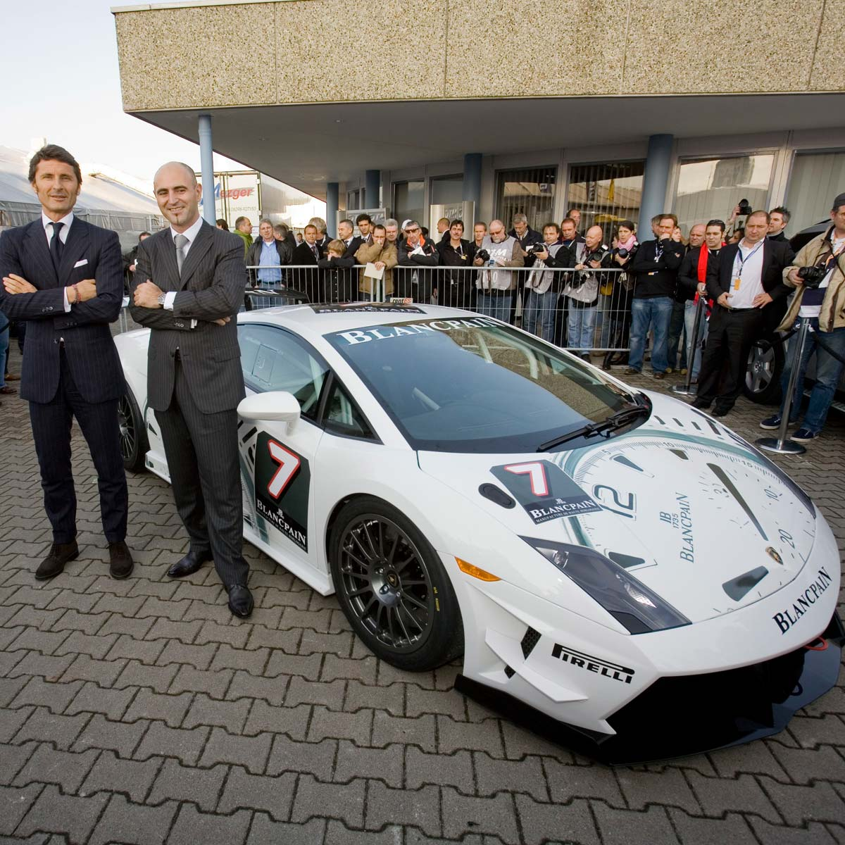 La Cote des Montres : Photo - Lamborghini Blancpain Super Trofeo