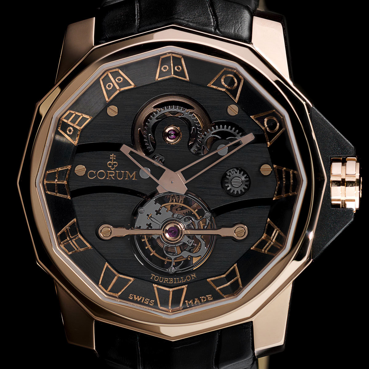 The Watch Quote: Photo - Corum Admiral's Cup Tourbillon 48