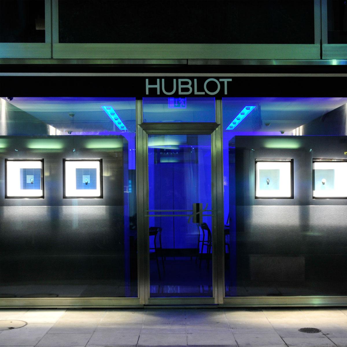 La Cote des Montres : Photo - La boutique Hublot ouvre ses portes à Genève