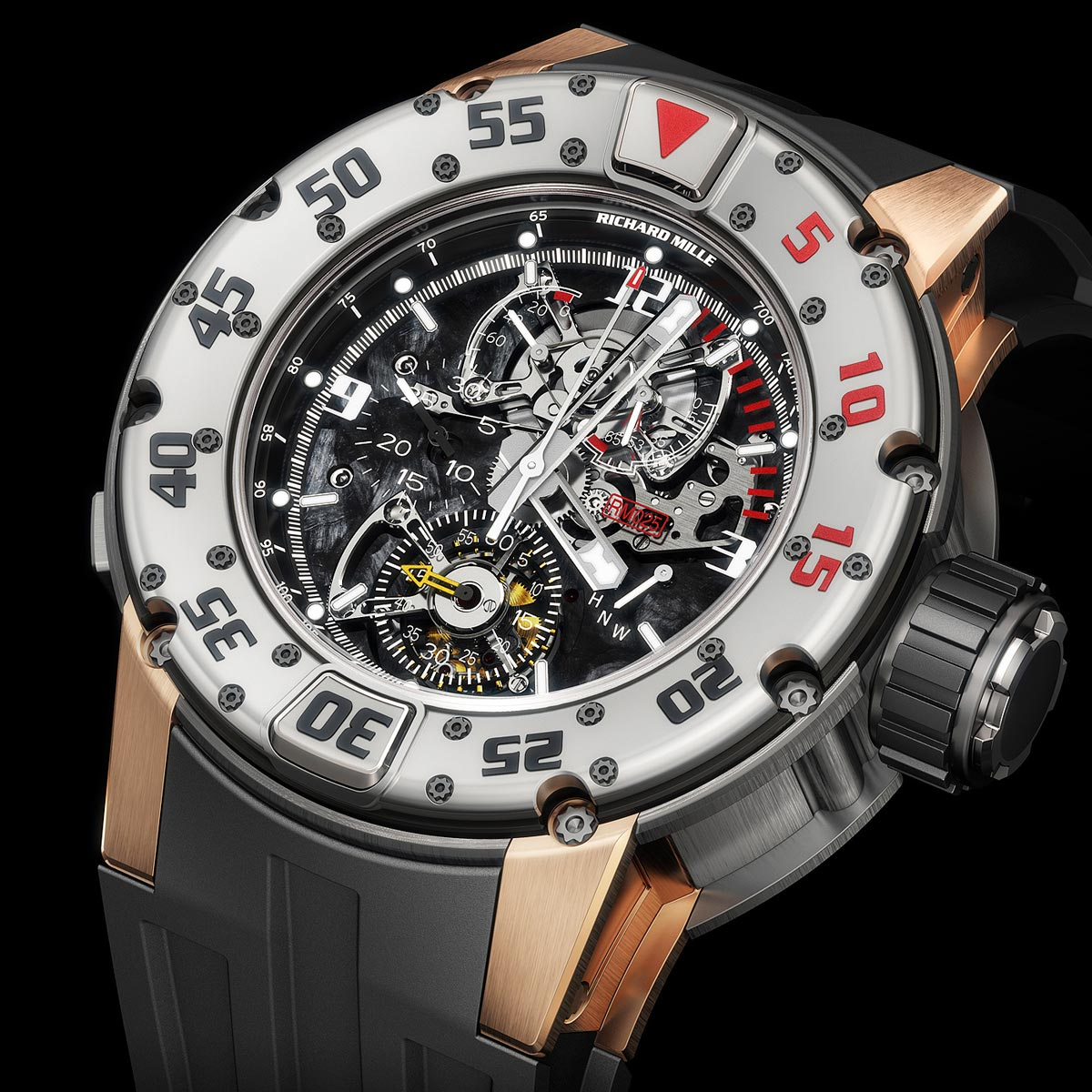 The Watch Quote: Photo - Richard Mille RM 025 Tourbillon Chronograph Diver's Watch