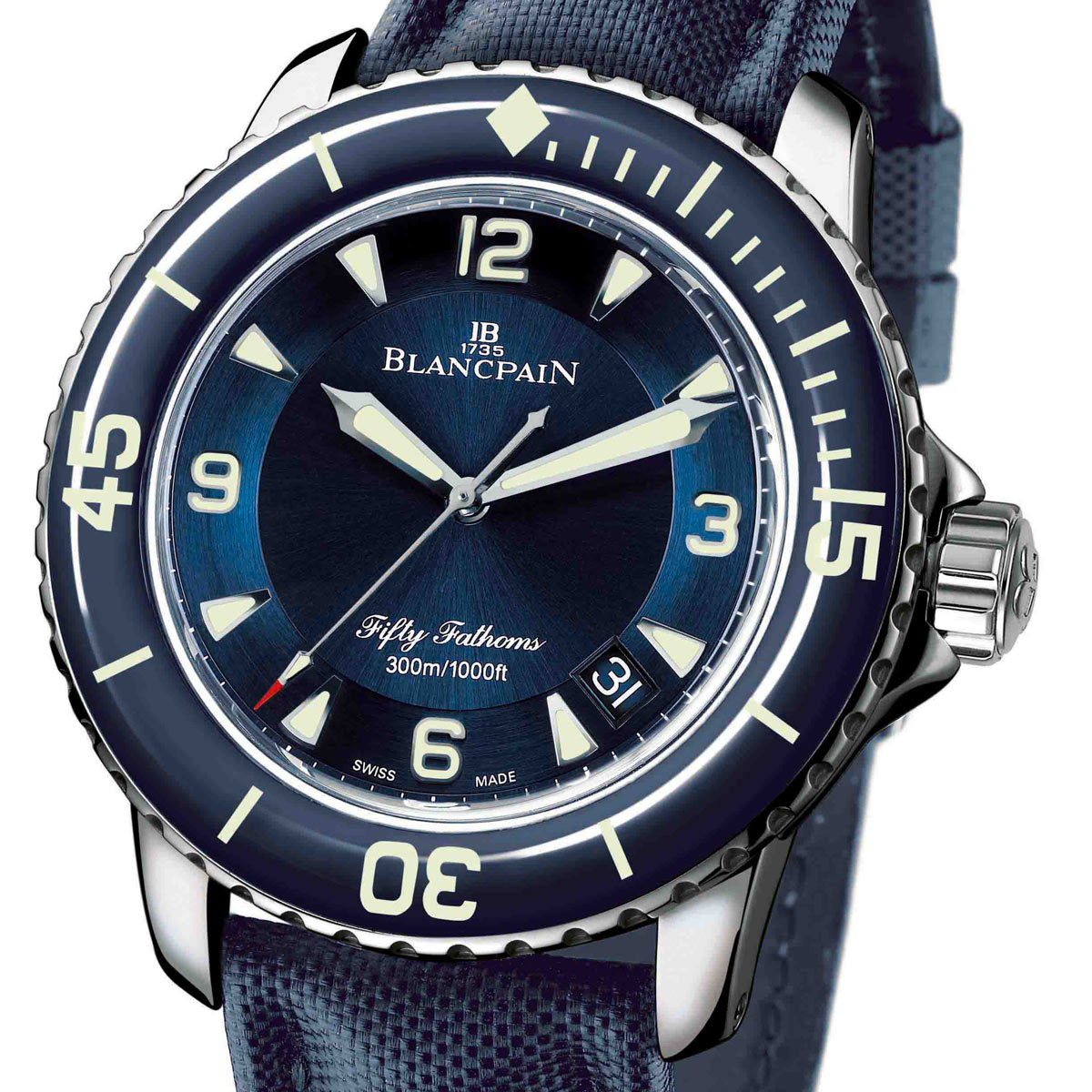La Cote des Montres : Photo - Blancpain nouvelle Fifty Fathoms
