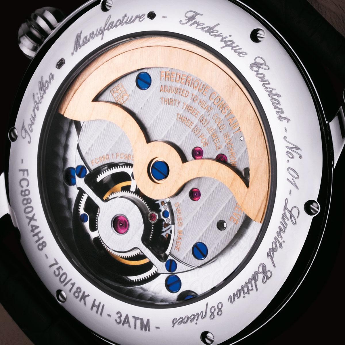 The Watch Quote: Photo - Frédérique Constant new gold tourbillon