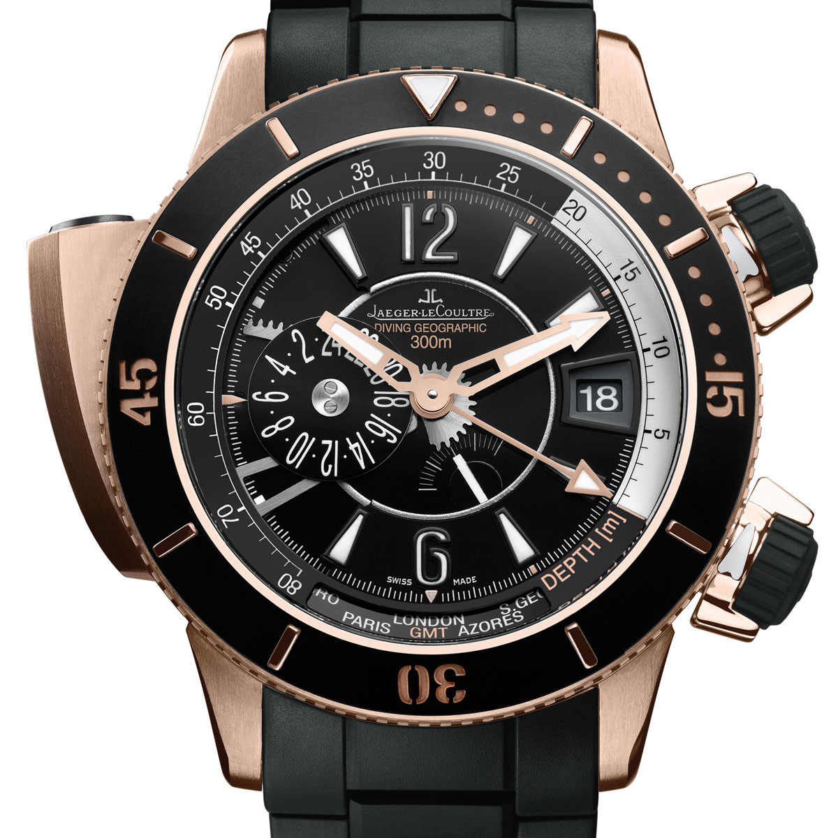 The Watch Quote: Photo - Jaeger-LeCoultre Master Compressor Diving Navy SEALs