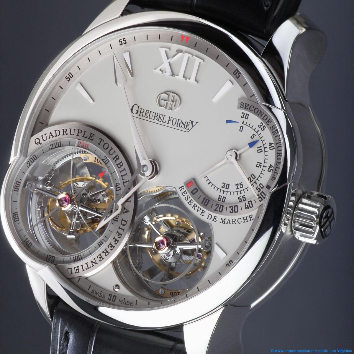 The Watch Quote: Photo - Greubel Forsey Quadruple Tourbillon