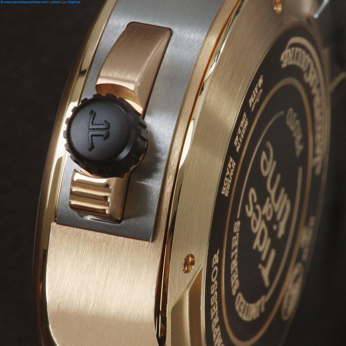 La Cote des Montres : Photo - Jaeger-LeCoultre Master compressor extreme w-alarm