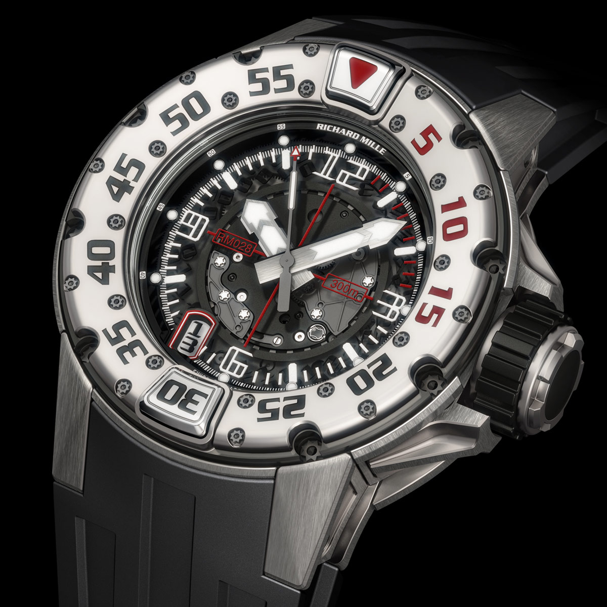The Watch Quote: Photo - The new diver's watch Richard Mille RM 028