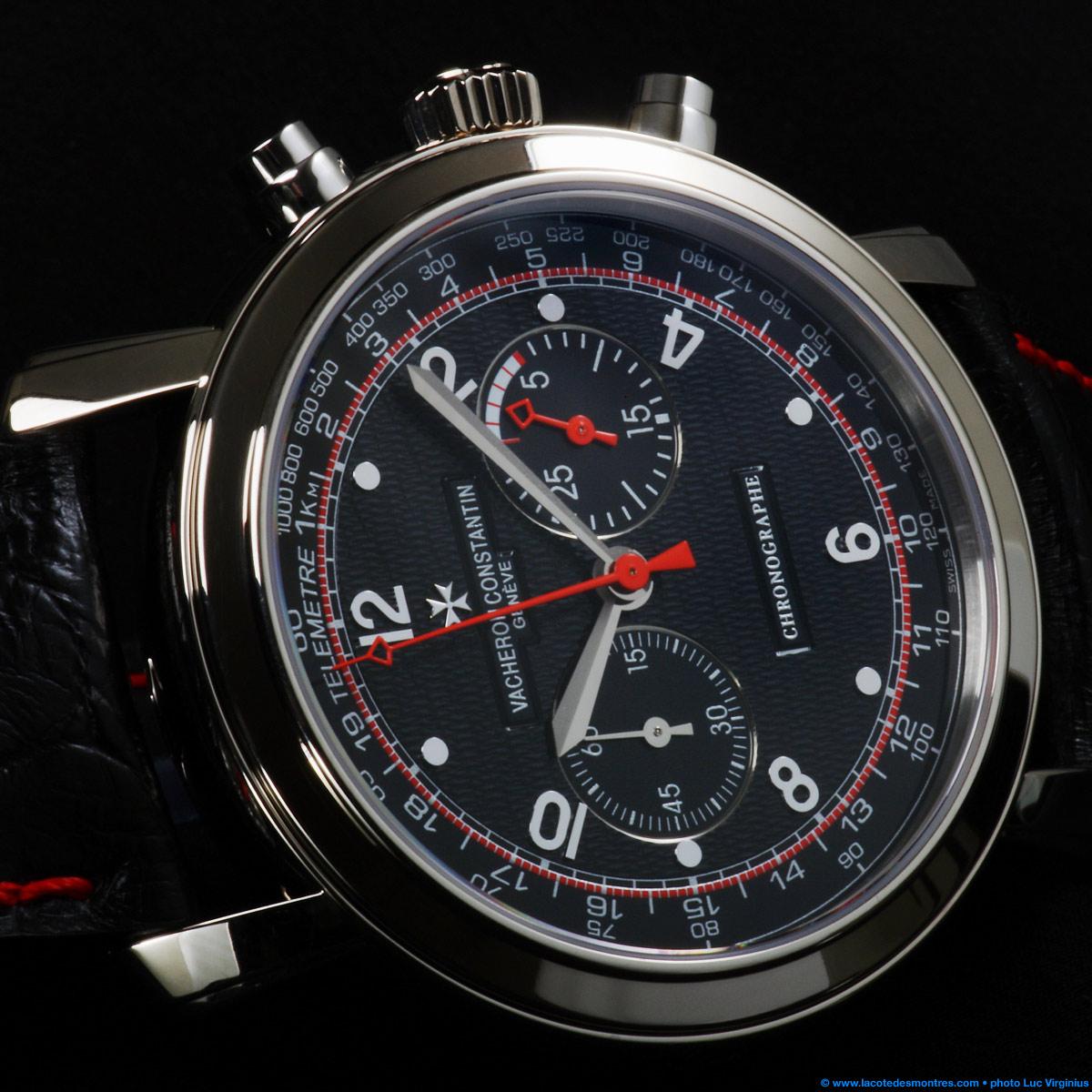 The Watch Quote: Photo - Vacheron Constantin Chronograph Malte white gold Dubail Edition