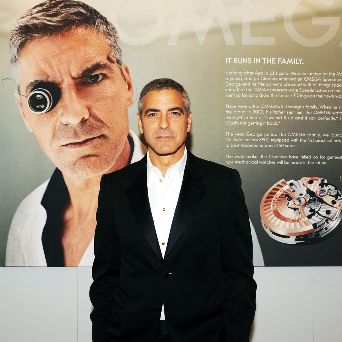 La Cote des Montres : Photo - Omega annonce une campagne publicitaire mondiale basée sur l'échappement co-axial