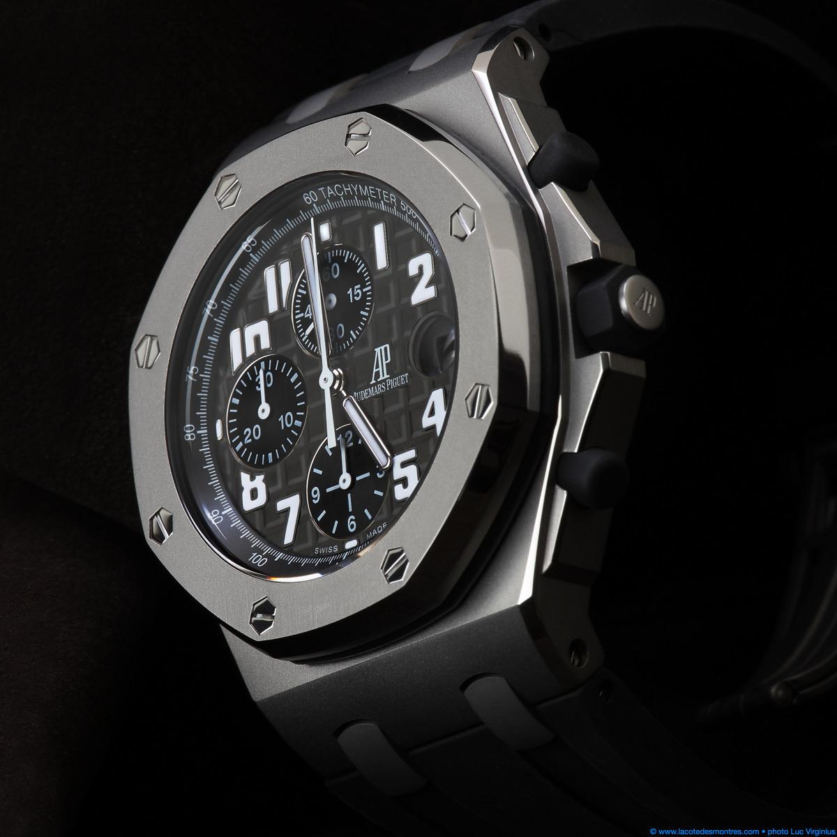 The watch quote photo audemars piguet royal oak offshore chronopassion for Royal oak offshore n7243