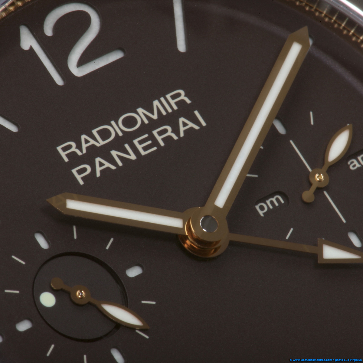 The Watch Quote: Photo - Panerai Radiomir Tourbillon GMT Titanium