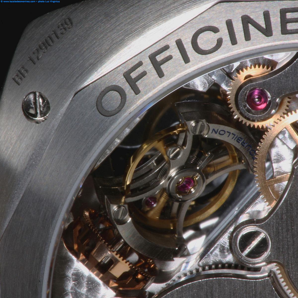 La Cote des Montres : Photo - Panerai Radiomir Tourbillon GMT Titane