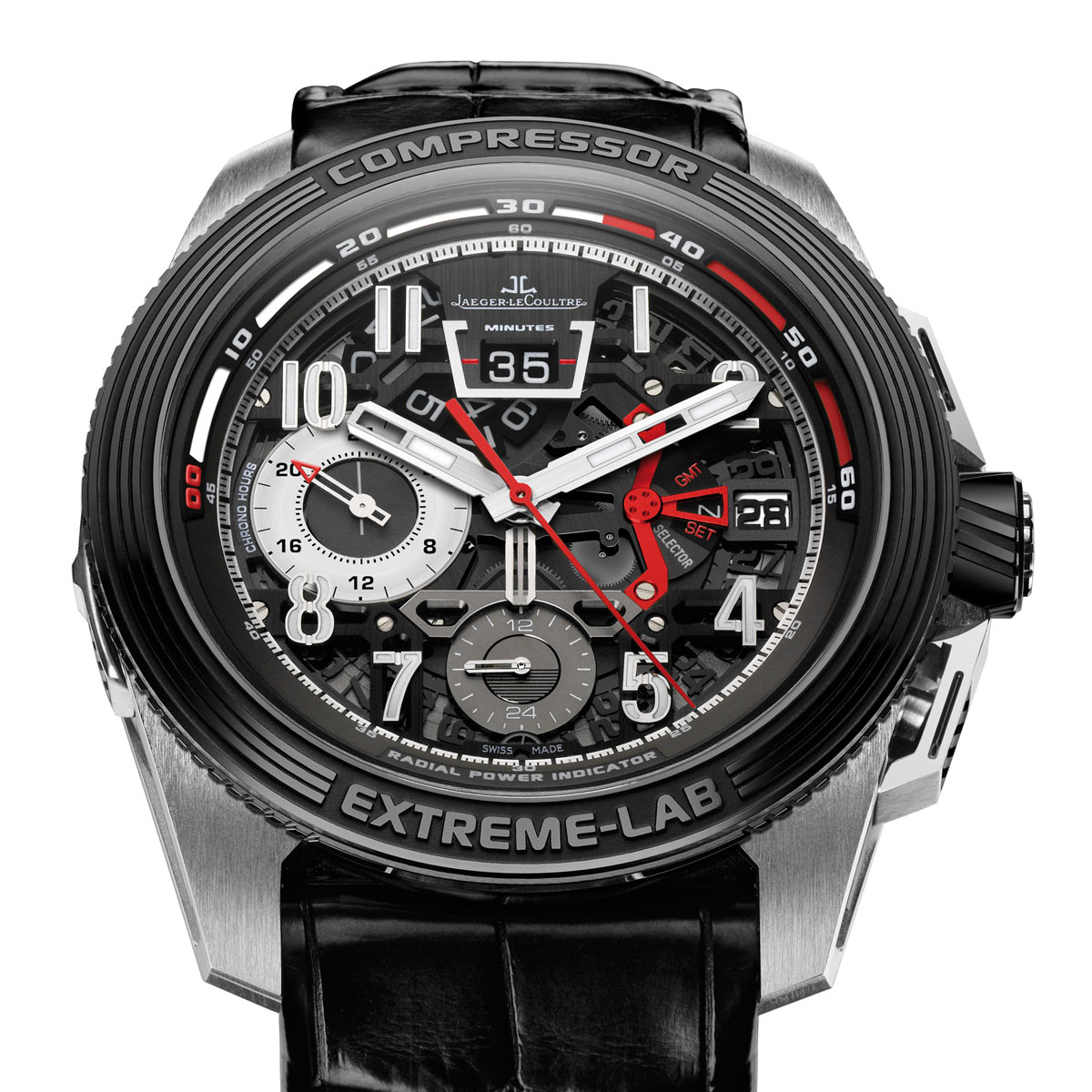 The Watch Quote: Photo - Jaeger-LeCoultre Master Compressor Extreme LAB 2