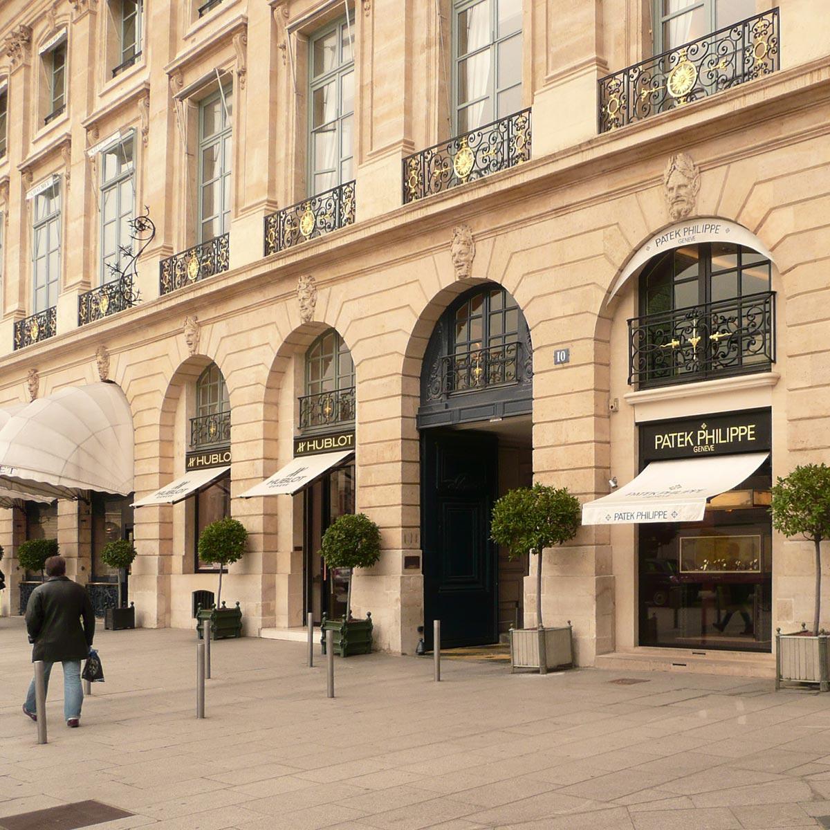 La Cote des Montres : Photo - Hublot s'installe Place Vendôme à Paris