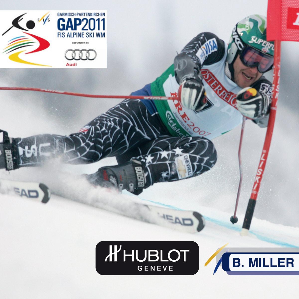 La Cote des Montres : Photo - Hublot chronométreur officiel des Championnats du Monde de ski en 2011
