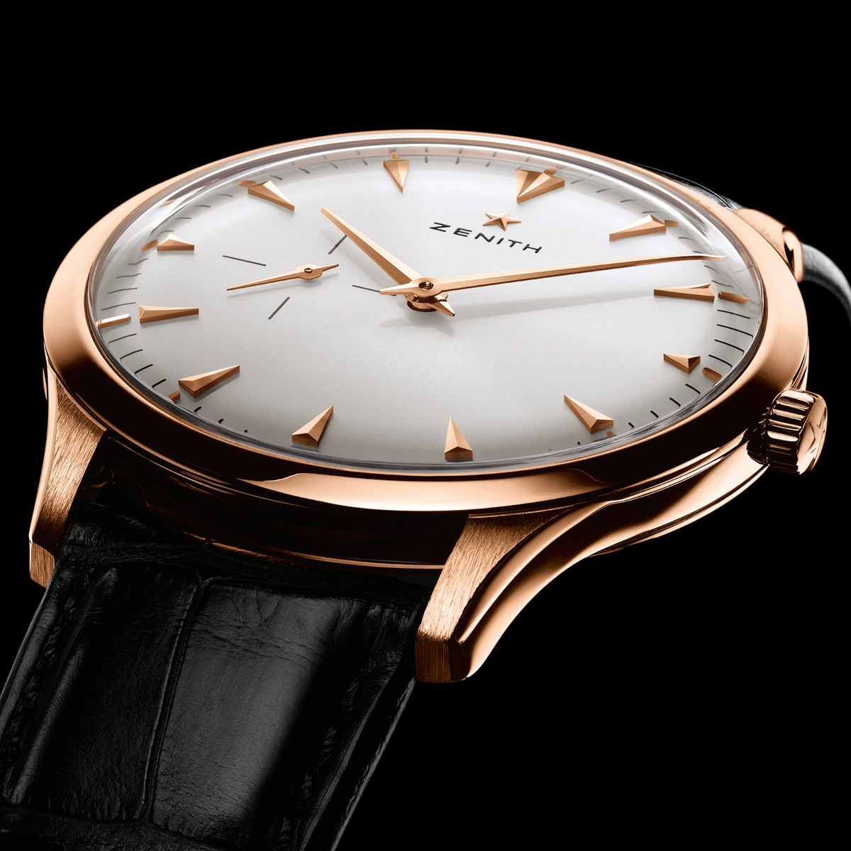 La Cote des Montres : Photo - Zenith Elite 681 ultra plate