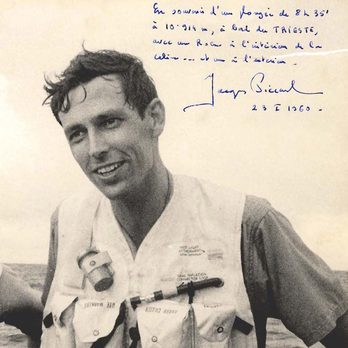La Cote des Montres : Photo - 23 janvier 1960 : le bathyscaphe Trieste et Rolex atteignent 10 916 mètres de profondeur