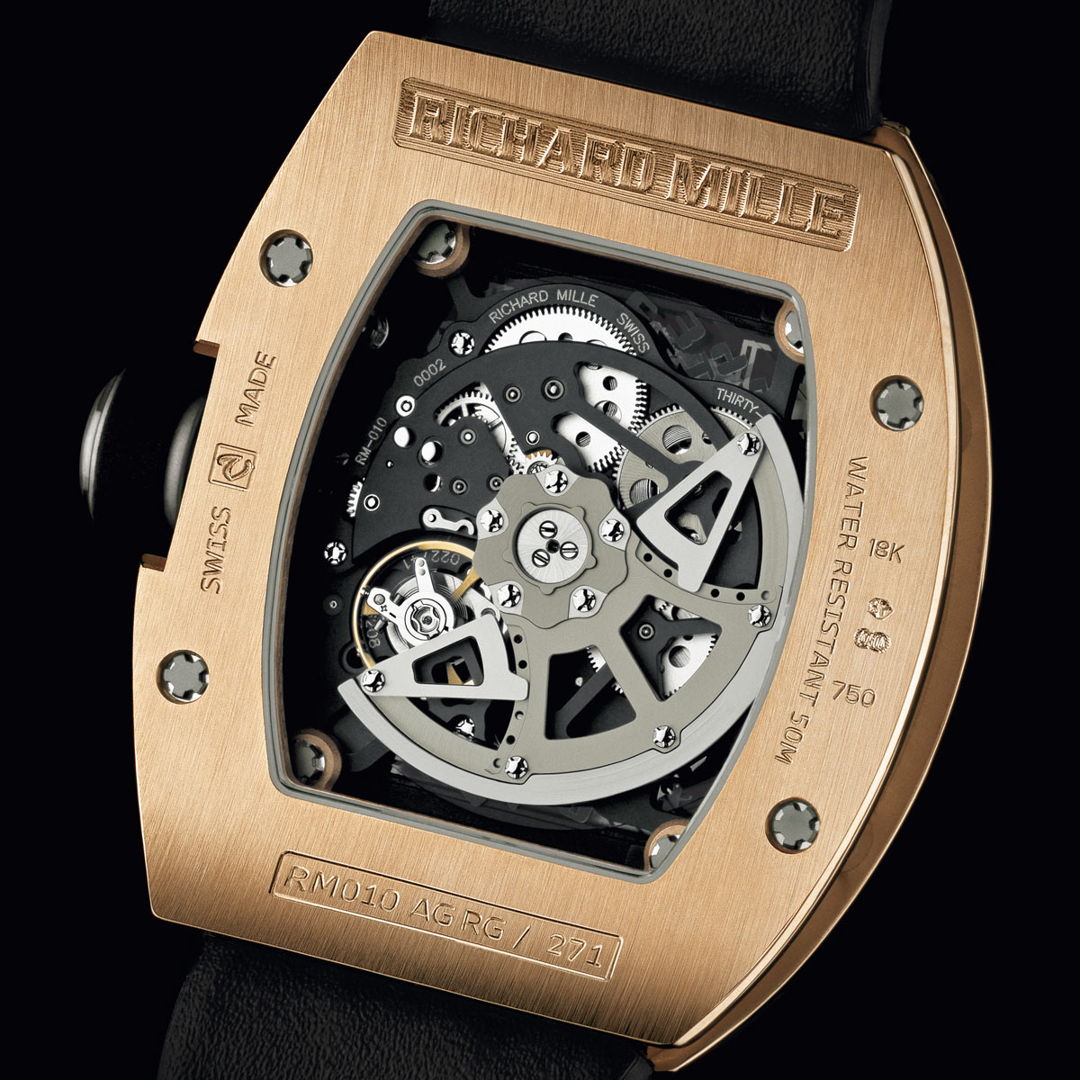 The Watch Quote: Photo - Richard Mille RM 010 Le Mans Classic 2010