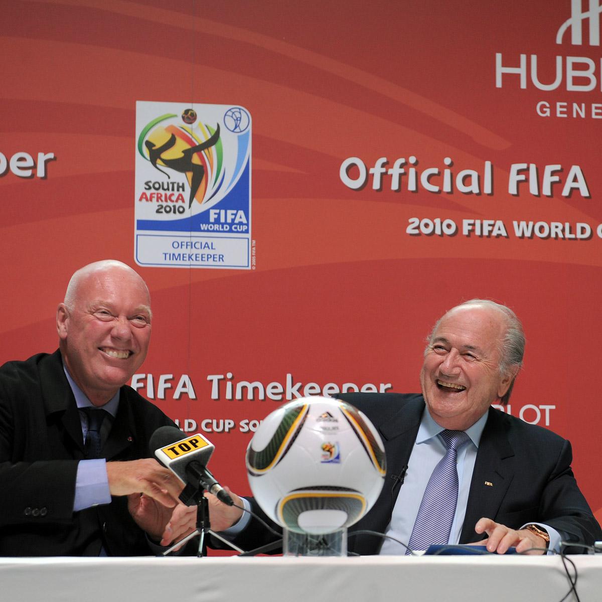La Cote des Montres : Photo - Hublot devient la Montre Officielle de la FIFA