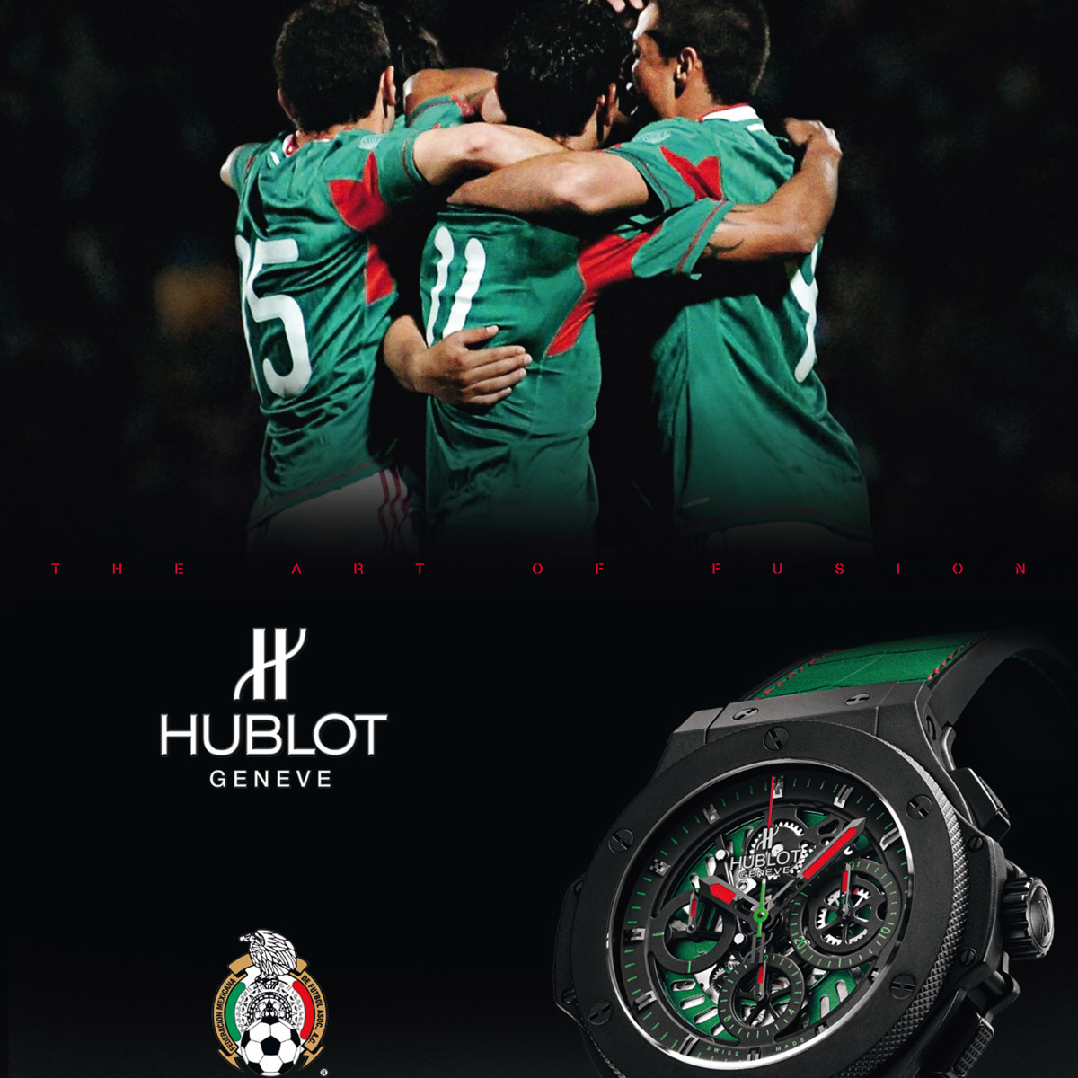 La Cote des Montres : Photo - Nouvelle Big Bang Fédération Mexicaine de Football