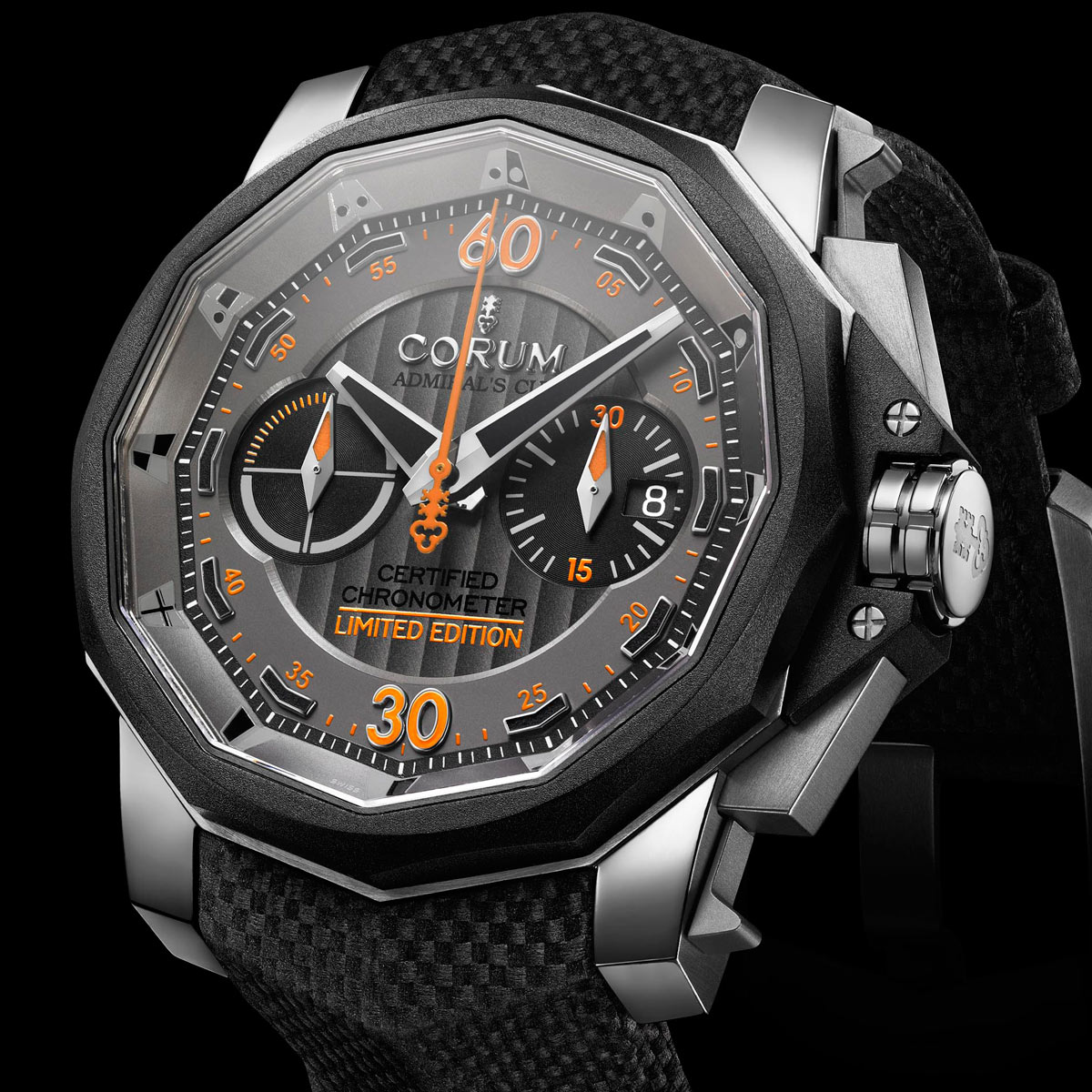 The Watch Quote: Photo - Admiral's Cup Chronograph 48 Grand Prix Corum