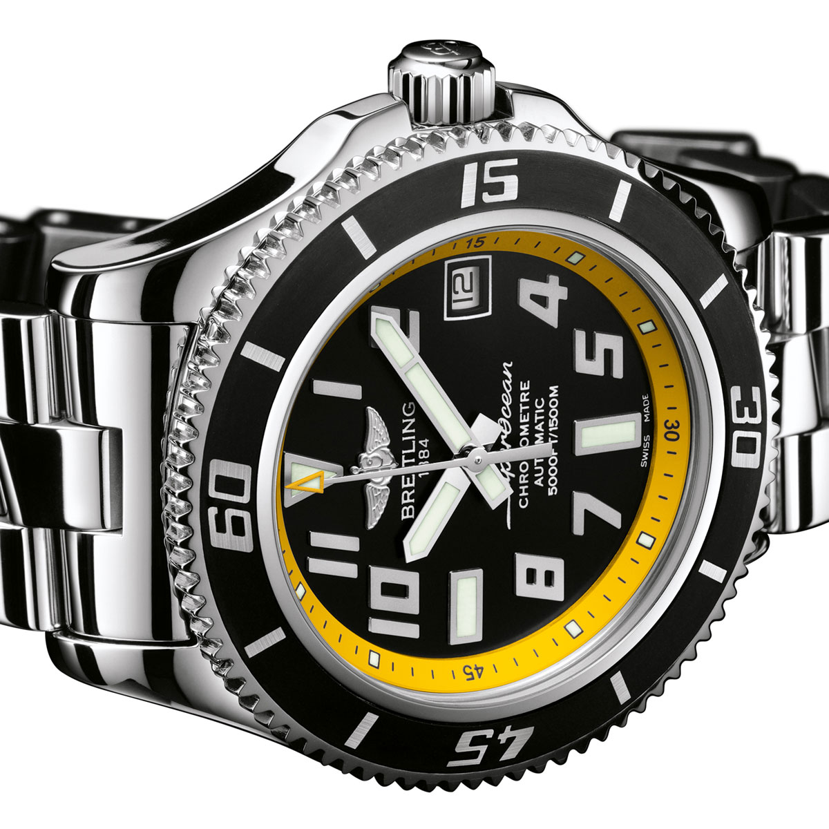 The Watch Quote: Photo - Breitling welcomes aboard Herbert Nitsch, an exceptional new pilot