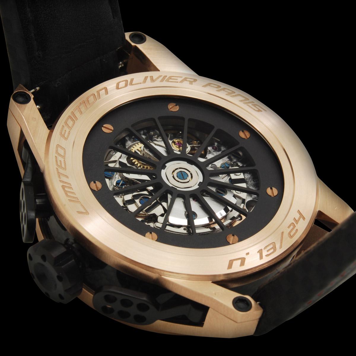 la cote des montres photo ange barde legend racer olivier panis. Black Bedroom Furniture Sets. Home Design Ideas