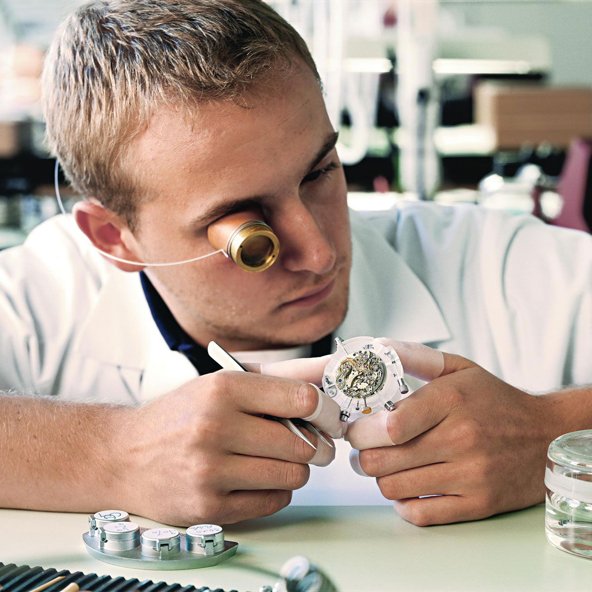 The Watch Quote: Photo - Young watchmakers follow in the footsteps of Ferdinand A. Lange