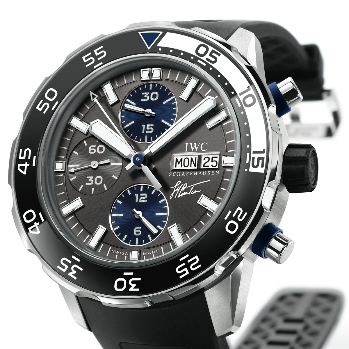 The Watch Quote: Photo - IWC Aquatimer Chronograph  Edition Jacques-Yves Cousteau