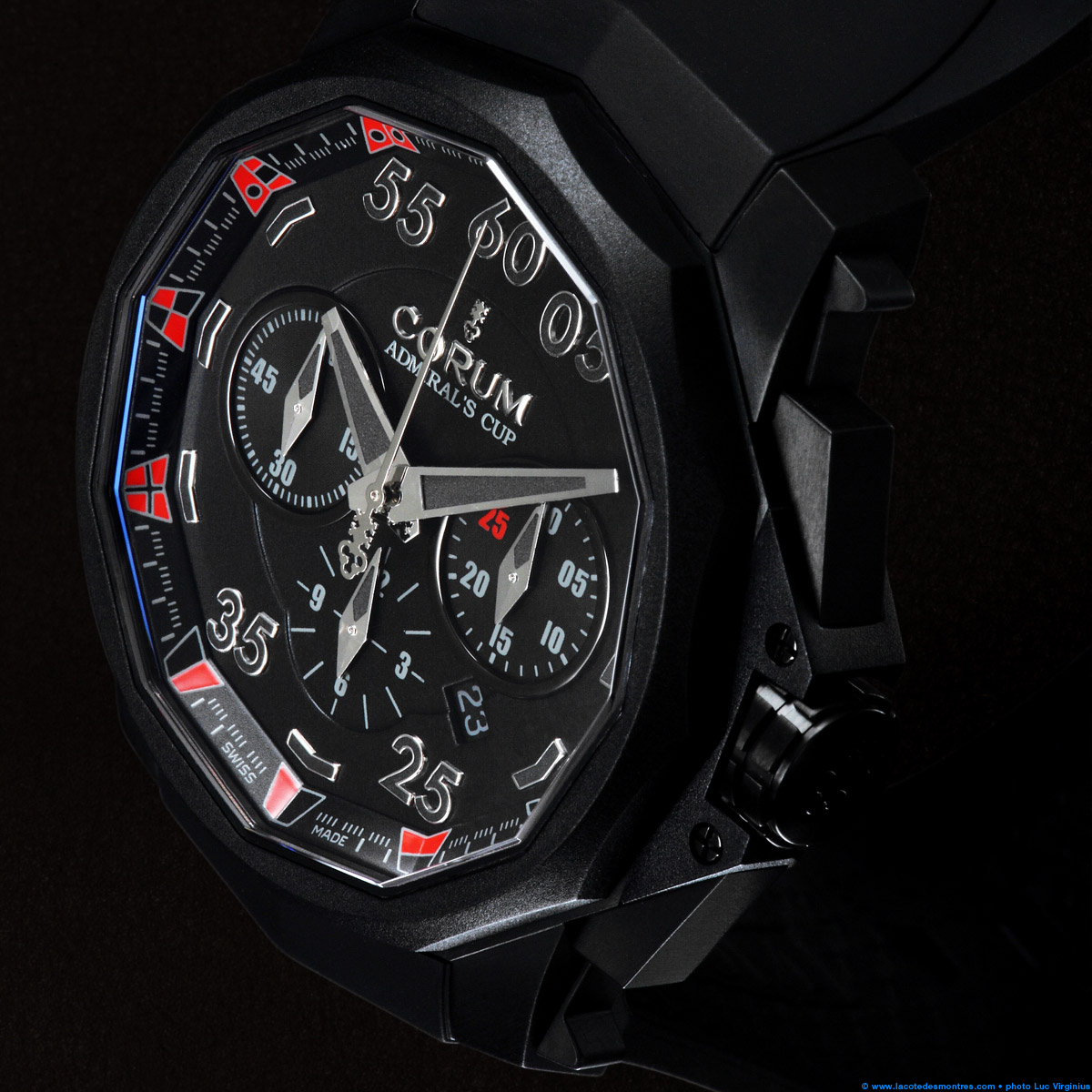 La Cote des Montres : Photo - Corum Admiral's Cup Black Hull 48 Dubail Paris