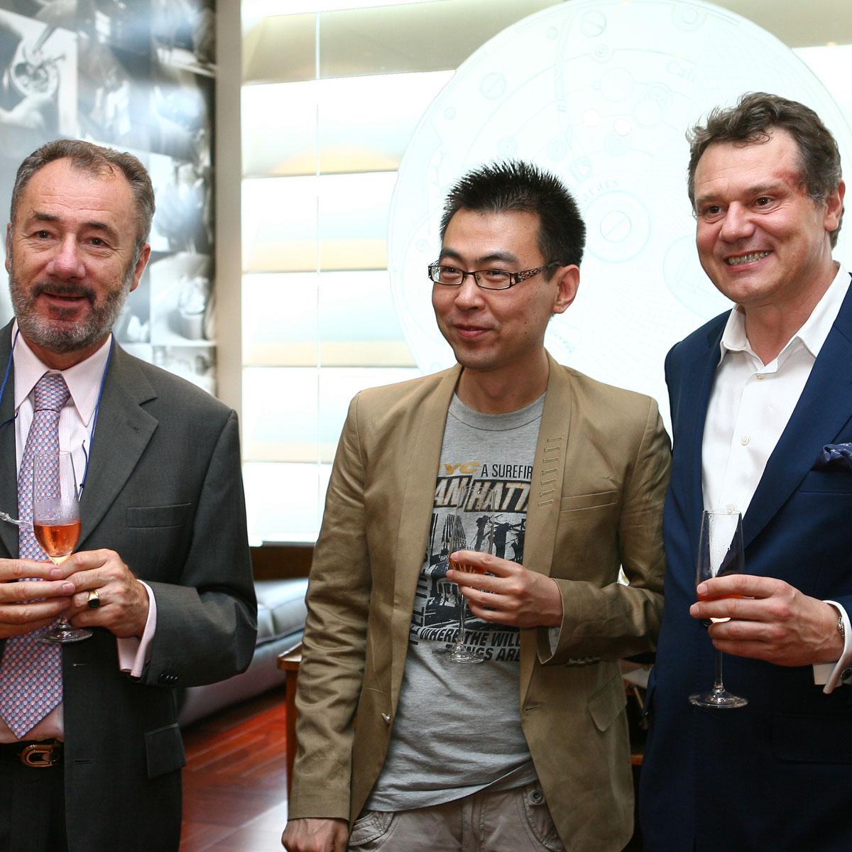 La Cote des Montres : Photo - Cérémonie Officielle d'Ouverture de  la Boutique F.P. Journe à Pékin