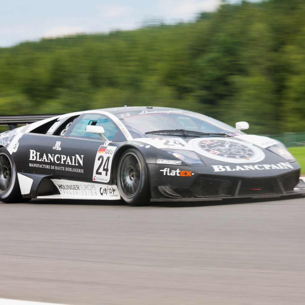 The Watch Quote: Photo - Blancpain hits the Spa-Francorchamps track