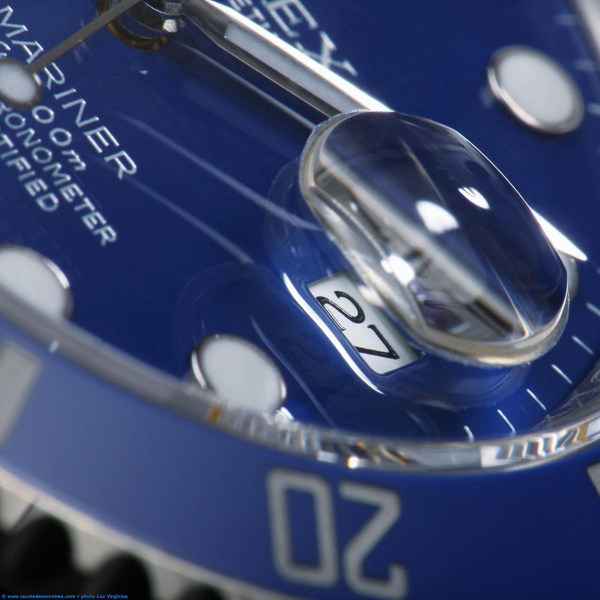 La Cote des Montres : Photo - Rolex Submariner Date or blanc