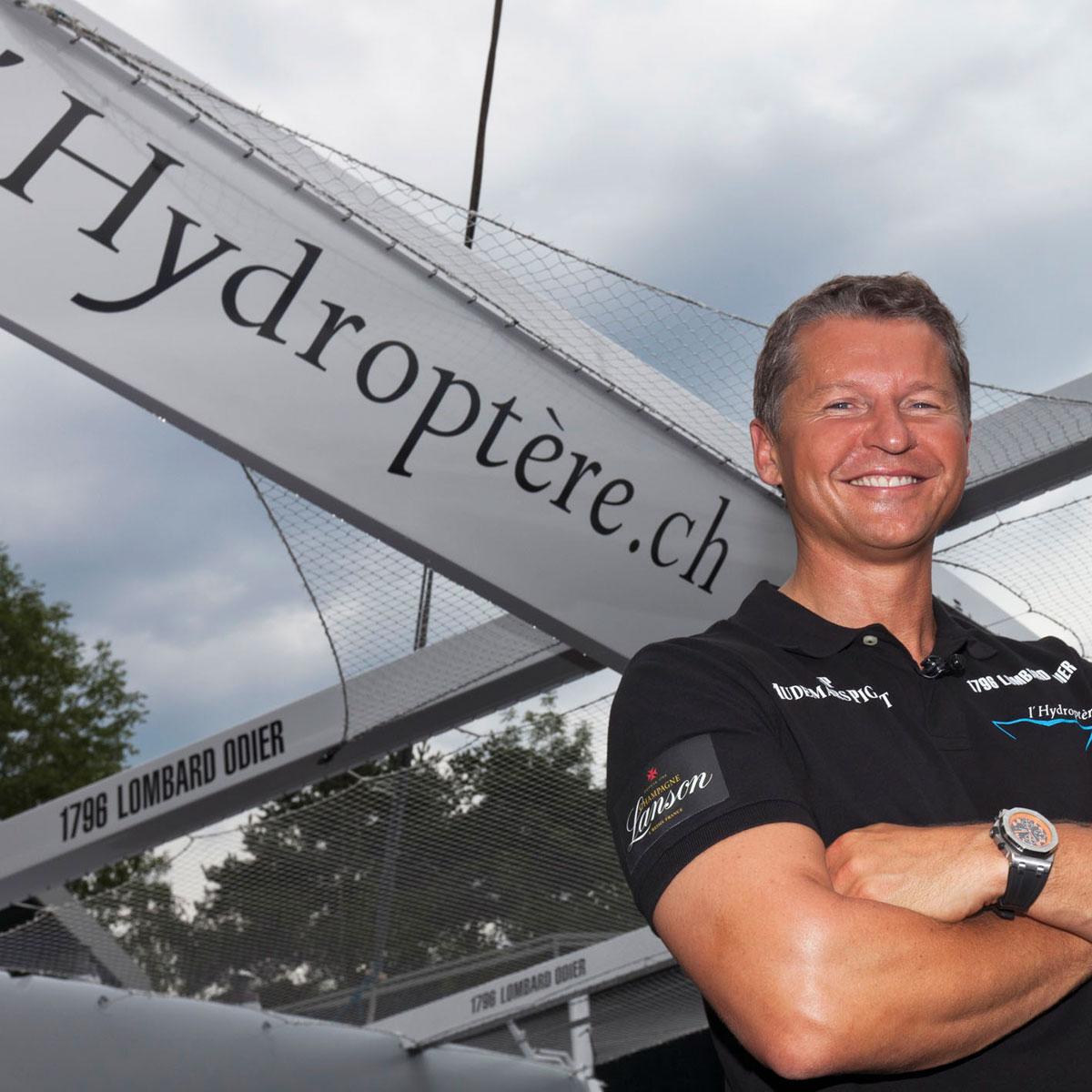 La Cote des Montres : Photo - Audemars Piguet lève le rideau sur l'Hydroptère.ch