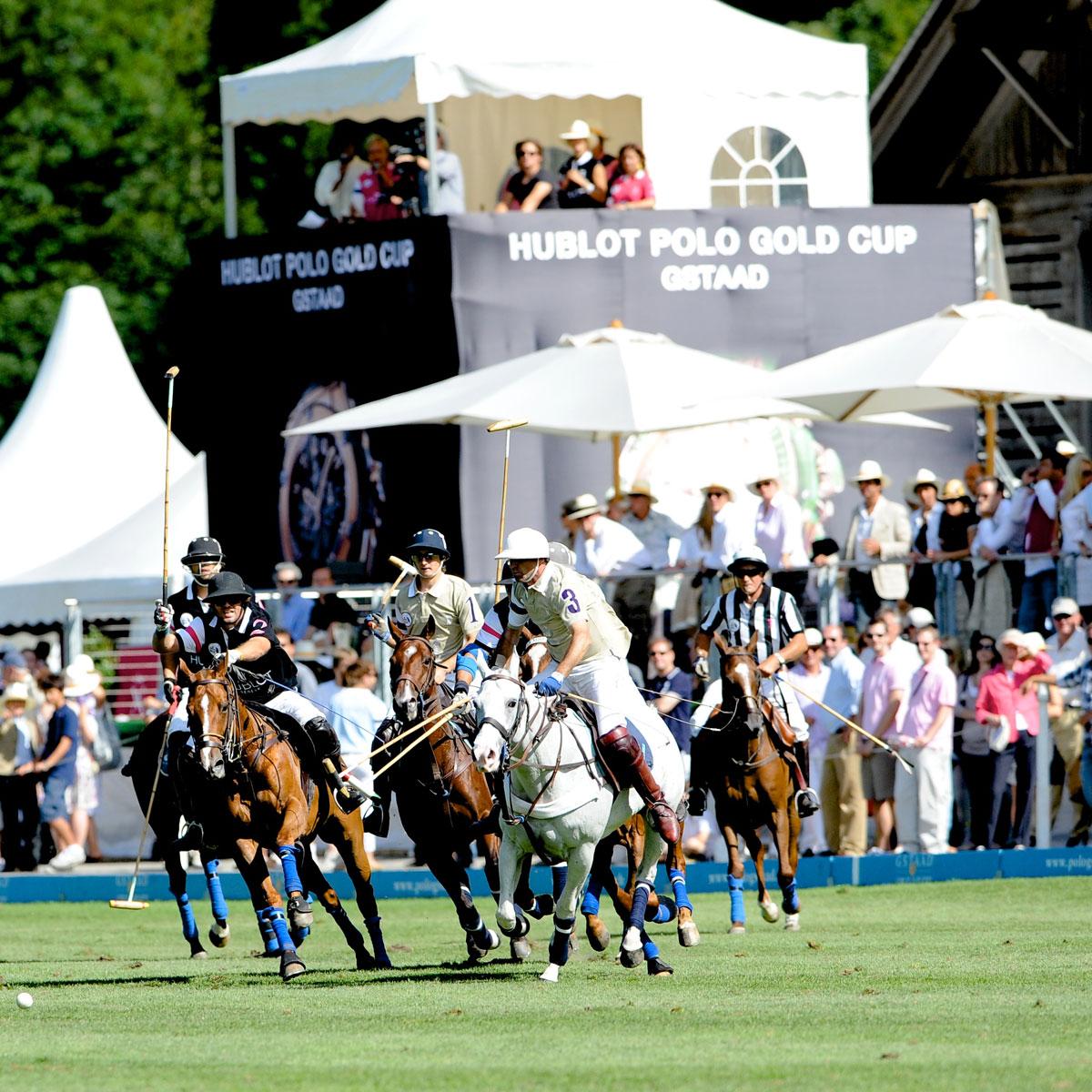 La Cote des Montres : Photo - Hublot Big Bang Polo Cup Gstaad