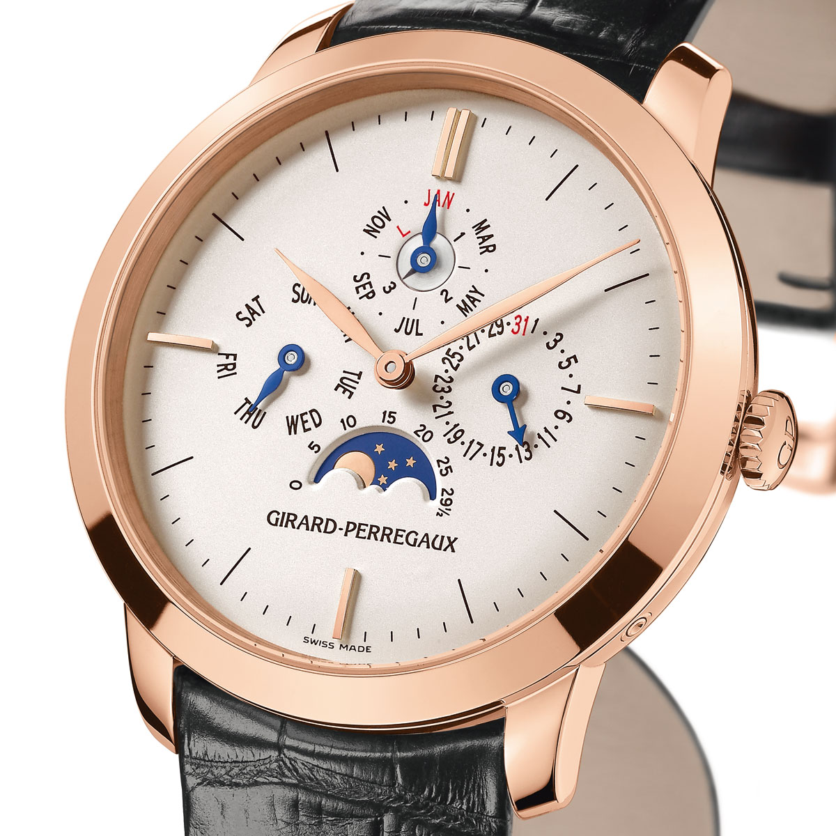 The Watch Quote: Photo - Girard-Perregaux 1966 Perpetual Calendar