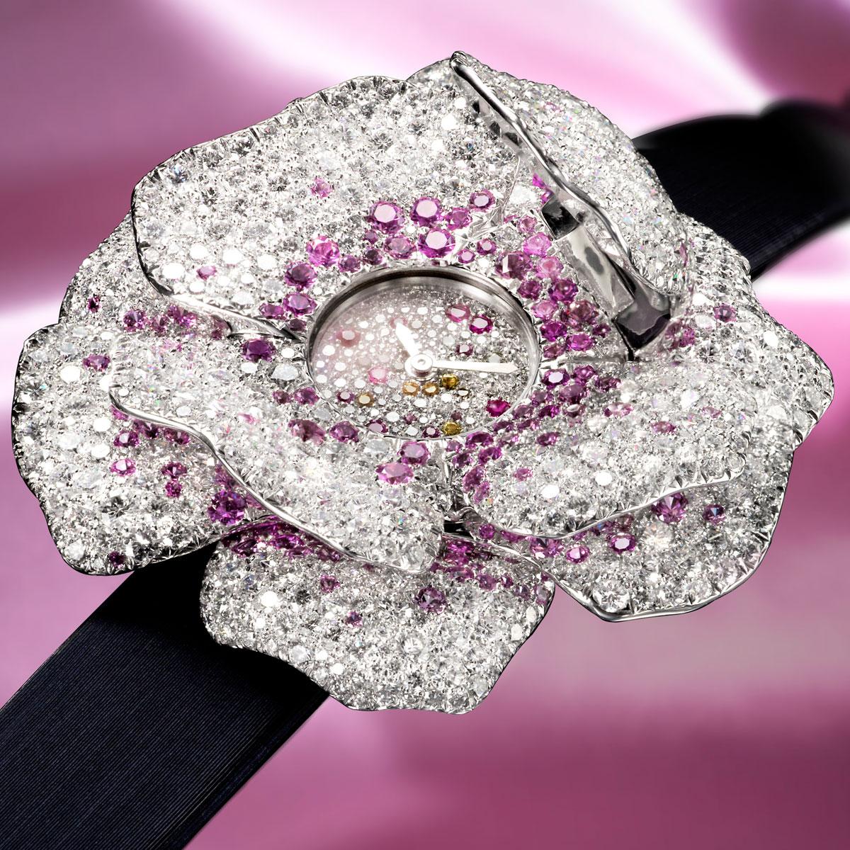 La Cote des Montres : Photo - Jaeger-LeCoultre Montre Extraordinaire La Rose