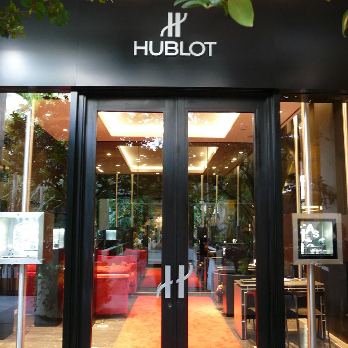 La Cote des Montres : Photo - Hublot ouvre deux premières boutique aux États-Unis