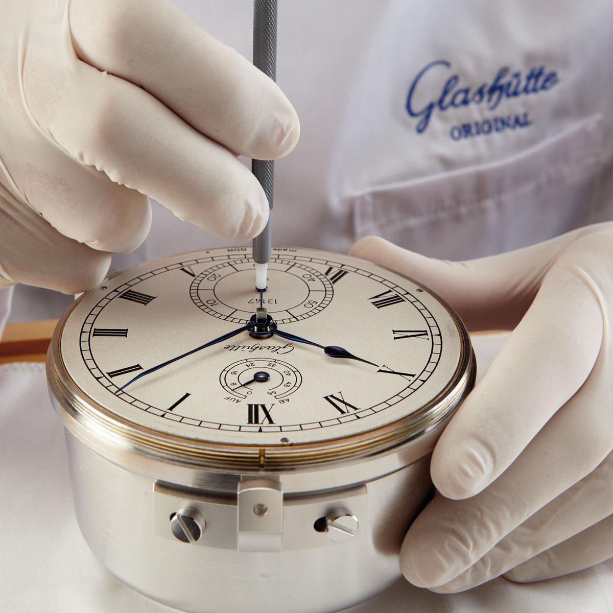 The Watch Quote: Photo - Glashütte Exclusive tribute to marine chronometers