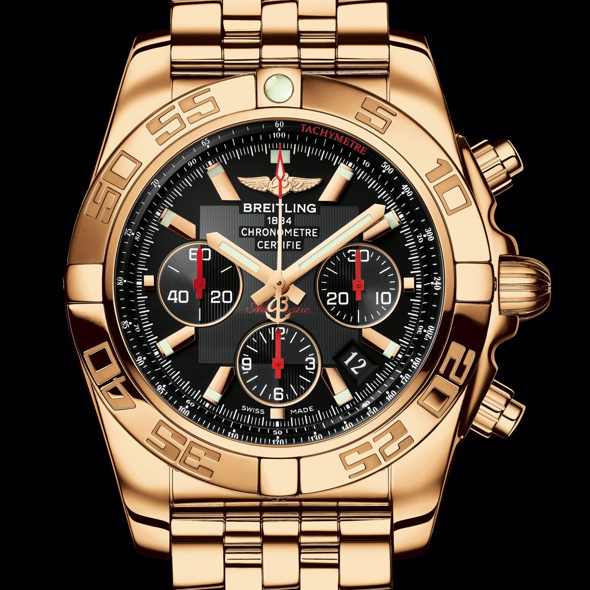 The Watch Quote: Photo - Breitling Chronomat 01 Limited Edition