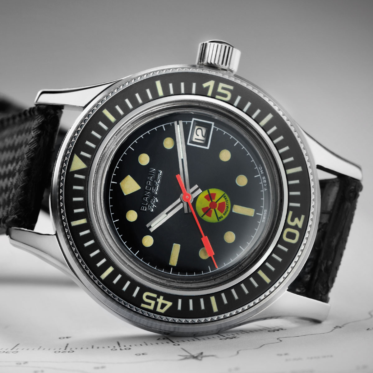 The Watch Quote: Photo - Blancpain Fifty Fathoms Tribute to Fifty Fathoms