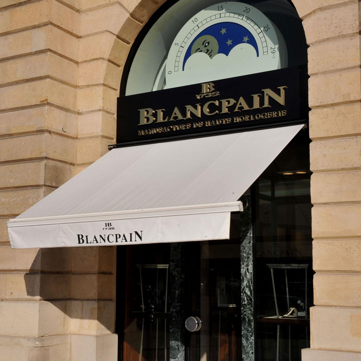 The Watch Quote: Photo - Blancpain unique Exhibition on Place Vendôme