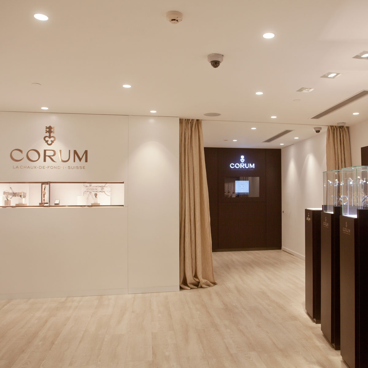 The Watch Quote: Photo - CORUM opens a new boutique in Shanghai