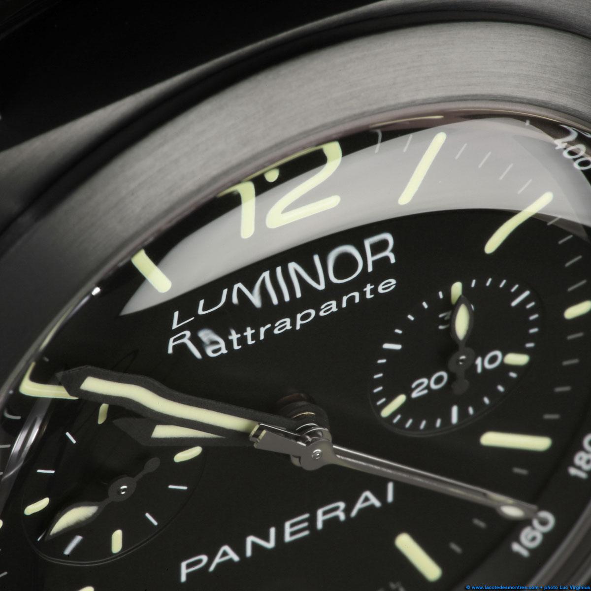 La Cote des Montres : Photo - Panerai PAM00357 Edition Limitée Dubail Paris