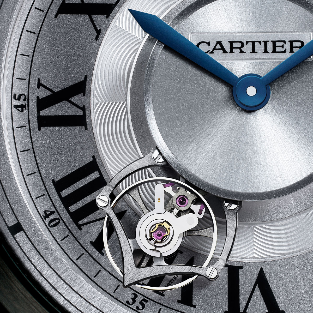 La Cote des Montres : Photo - Calibre de Cartier Astrotourbillon, calibre 9451MC