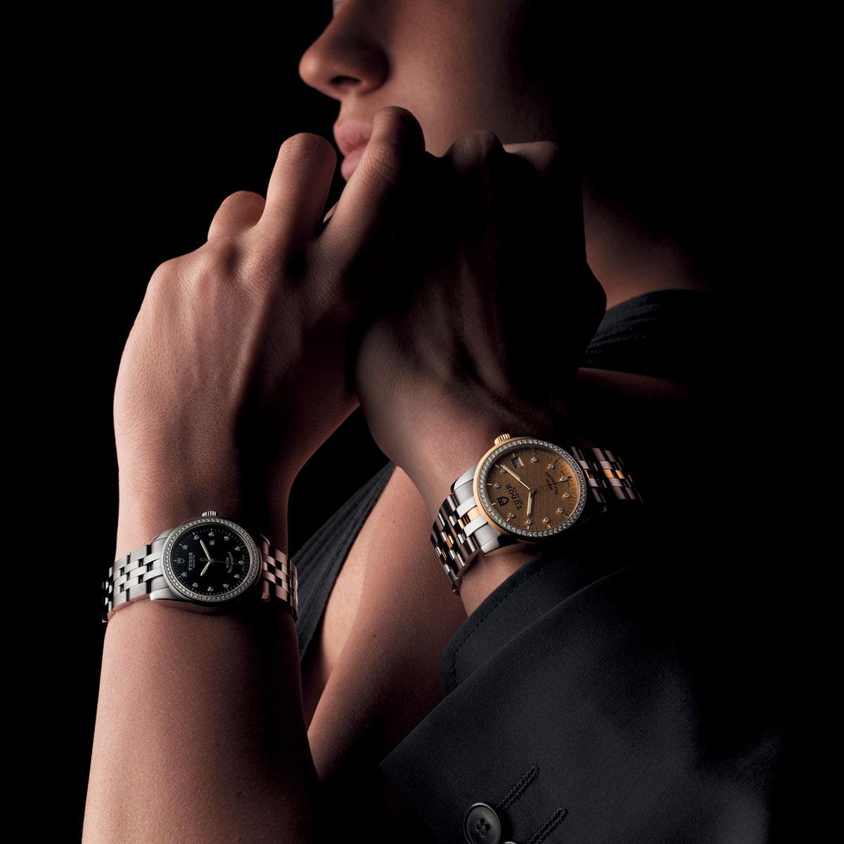 La Cote des Montres : Photo - Tudor Glamour Double Date